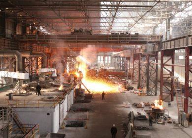 Освещение литейного цеха, литейное производство