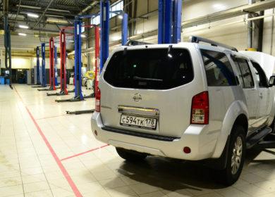 освещение автоцентра, освещение ремонтной зоны, освещение автосалона