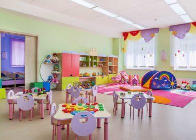 Освещение детского сада светодиоды