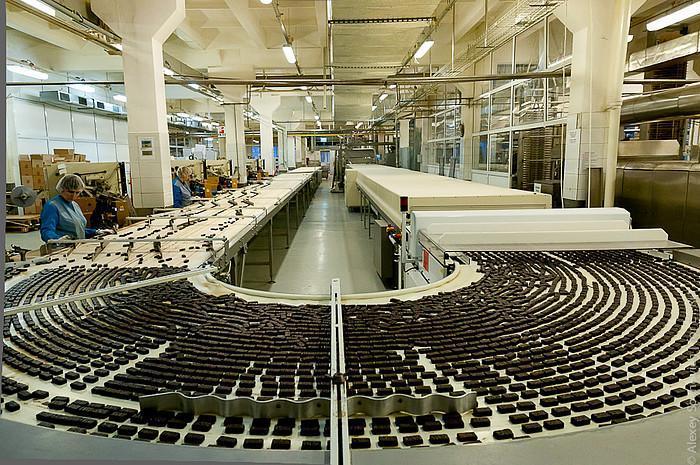 освещение кондитерского цеха, кондитерское производство, нормы освещенности