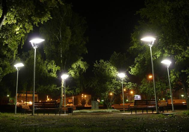 Наружное освещение для сада