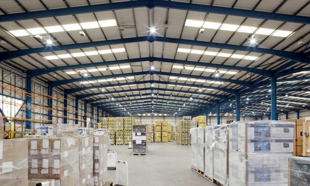 Промышленные светодиодные светильники для склада