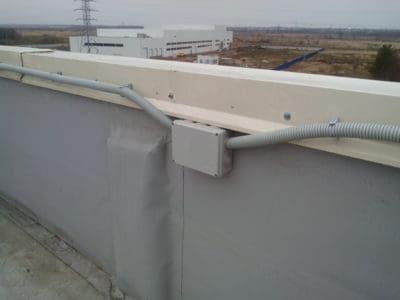 Наружная прокладка кабеля