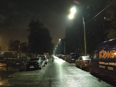 """Уличное освещение от компании """"ПИК"""""""