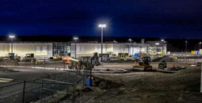 Профессиональное освещение строительной площадки
