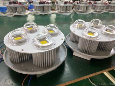 Светодиодный светильник и его производство