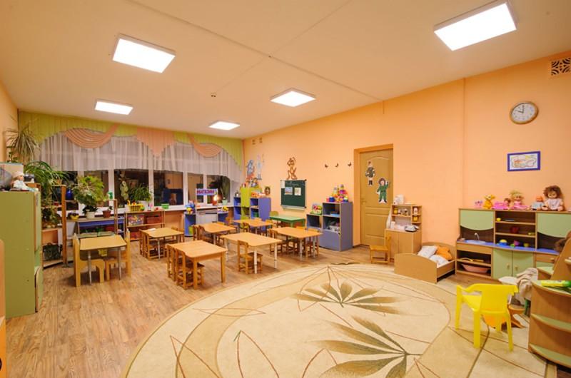 освещение детского сада